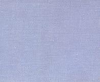 Blå naturlig textiltextur Royaltyfri Bild