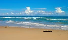 blå naturplats för strand Arkivfoton