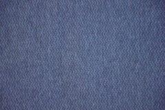 Blå och grå tygtextur Blå och grå torkdukebakgrund Stäng sig upp sikt av blått och gråna tygtextur och bakgrund Royaltyfria Bilder