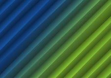 Blå och grön bakgrund vektor illustrationer