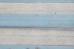 Blå och vit bakgrund, marin- tema målat bräde Arkivfoton