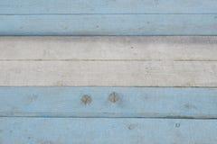 Blå och vit bakgrund, marin- tema målat bräde Royaltyfri Foto