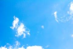 blå oklarhetssky Royaltyfri Foto