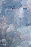 Blå olje- textur Royaltyfria Bilder
