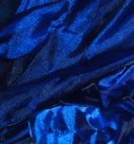 Blå organza Arkivfoto