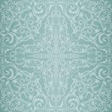 Blå Orient modell royaltyfri illustrationer