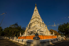blå pagodasky Royaltyfri Bild