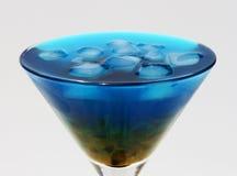 blå passion Arkivbilder