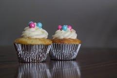 blå pink Fotografering för Bildbyråer