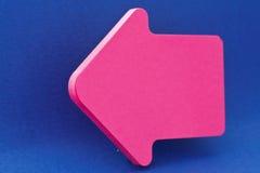 blå pink för pil Royaltyfria Foton