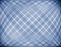 blå pläd Arkivbild