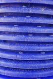 Blå plast- korgtextur Royaltyfri Foto