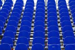 Blå plast- plats Royaltyfria Foton