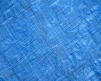 Blå plast- textur Royaltyfria Bilder