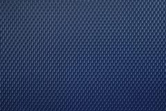 Blå plast- textur Arkivfoto