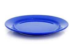 blå platta Royaltyfria Foton