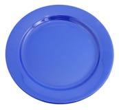 blå platta Royaltyfria Bilder
