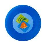 blå platta Royaltyfri Fotografi