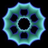 blå plattaspecial Arkivbild