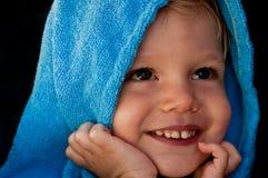 blå pojke royaltyfri bild
