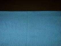 Blå prick- och bruntbakgrund Royaltyfri Fotografi