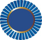 blå prisbandvektor Fotografering för Bildbyråer