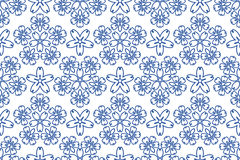 blå prydnadmodell Royaltyfria Bilder