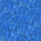 Blå pyramidbakgrund stock illustrationer