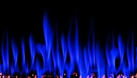 blå rök Royaltyfri Bild