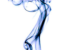 blå röktextur Royaltyfria Bilder