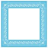 blå ram Royaltyfria Foton