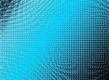 Blå rastrerad bakgrund för abstrakt begreppvirvlar Arkivbild
