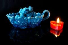 blå red Royaltyfri Foto