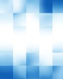 Blå rektangulär bakgrund Royaltyfri Foto