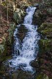 Blå Ridge lös bergvattenfall Royaltyfria Bilder