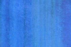 Blå rostad texturerad bakgrund för signal metallisk grunge Fotografering för Bildbyråer