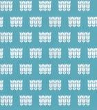 Blå sömlös färgmodell Arkivfoto