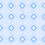 Blå sömlös modell för kalejdoskop för din Desing Arkivfoto