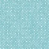 Blå sömlös polka Dot Old Pattern Royaltyfria Bilder