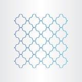 Blå sömlös tråddesign Royaltyfria Bilder