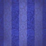 blå sammet Royaltyfri Fotografi