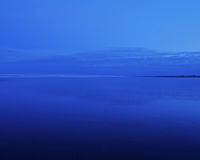 blå sandsky Arkivfoton
