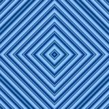 blå seamless diamantmodell Royaltyfri Fotografi