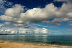 blå seascape Royaltyfri Bild