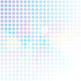 Blå sexhörningsabstrakt begreppbakgrund vektor illustrationer