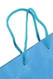 blå shopping för påse Royaltyfria Bilder