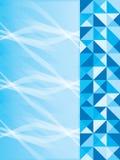 Blå sidasida royaltyfri illustrationer