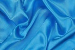Blå siden- torkduk av krabb abstrakt bakgrund Royaltyfri Fotografi