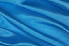 Blå siden- torkduk av krabb abstrakt bakgrund Arkivfoto
