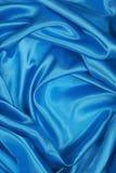 Blå siden- torkduk av krabb abstrakt bakgrund Arkivfoton